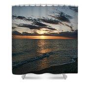 Classic Sunset Shower Curtain