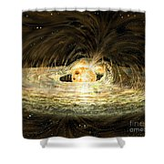 Classic T Tauri Star Shower Curtain