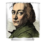 Claude-louis Berthollet, French Chemist Shower Curtain by Science Source