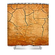 Clay Bake Oven Shower Curtain