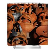 Clay Factory In Argentina Shower Curtain