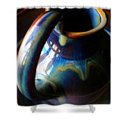 Clay Pitcher Shower Curtain