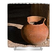 Clay Pot And Shadow Shower Curtain