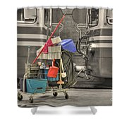 Cleaning Equipment Shower Curtain