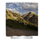 Clear Lake Road Shower Curtain