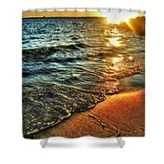 Clear Waters Shower Curtain