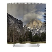 Clearing At Half Dome Shower Curtain