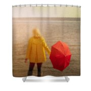 Clearing Shower Curtain
