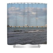 Clearwater Pier 69 Shower Curtain