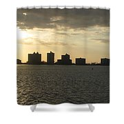 Clearwater Sky Shower Curtain