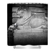 Cleave Shower Curtain