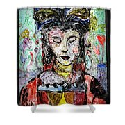 Cleopatra In Spring Shower Curtain