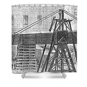 Cleopatras Needle, 1880 Shower Curtain