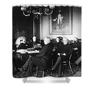 Cleveland Cabinet, 1889 Shower Curtain