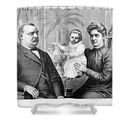 Cleveland Family, C1893 Shower Curtain