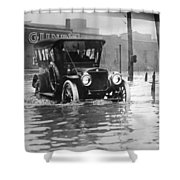Cleveland: Flood, C1913 Shower Curtain