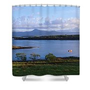 Clew Bay, Co Mayo, Ireland Shower Curtain