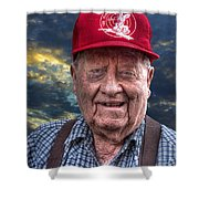 Cliff - Proud Member Of Napanee's Walker Brigade Shower Curtain