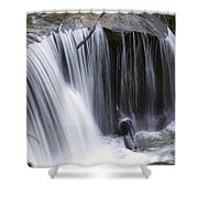 Cliff Falls Shower Curtain