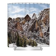 Cliff Texture Shower Curtain