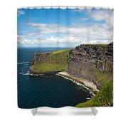 Cliffs Of Mohar Shower Curtain
