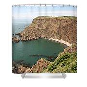 Cliffs On Grand Manan Island Shower Curtain