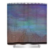 Climate Differential Shower Curtain