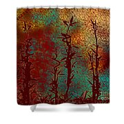 Climbing Unknown Horizons Shower Curtain