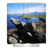 Clogherhead, Co Kerry, Dingle Shower Curtain