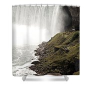 Close To The Falls Shower Curtain