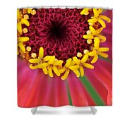 Close Up Dahlia Shower Curtain