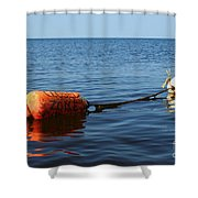 Closed Shower Curtain