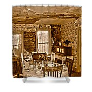 Closed For Renovations Shower Curtain