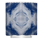 Cloud Abstract Shower Curtain