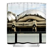 Cloud Gate - 2 Shower Curtain