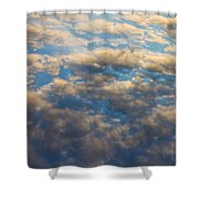 Cloud Imagery Shower Curtain