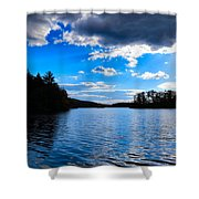 Cloud Reflections Shower Curtain