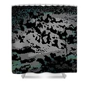 Clouded Thought Shower Curtain