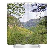 Cloudland Canyon Shower Curtain