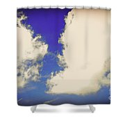 Clouds-10 Shower Curtain