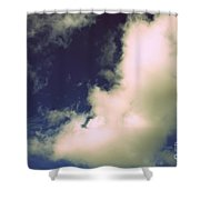 Clouds-11 Shower Curtain