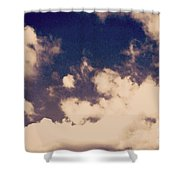 Clouds-2 Shower Curtain