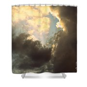 Clouds-4 Shower Curtain
