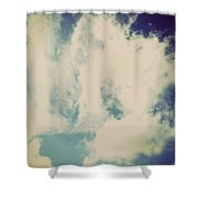 Clouds-5 Shower Curtain
