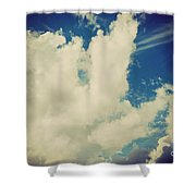 Clouds-7 Shower Curtain