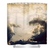 Clouds-9 Shower Curtain