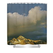 Clouds Above Mount Wilson Shower Curtain