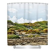 Clouds And Dunes Shower Curtain