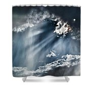 Clouds And Sky Shower Curtain