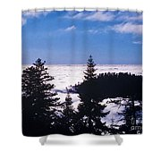 Clouds At Sequoia National Park Shower Curtain